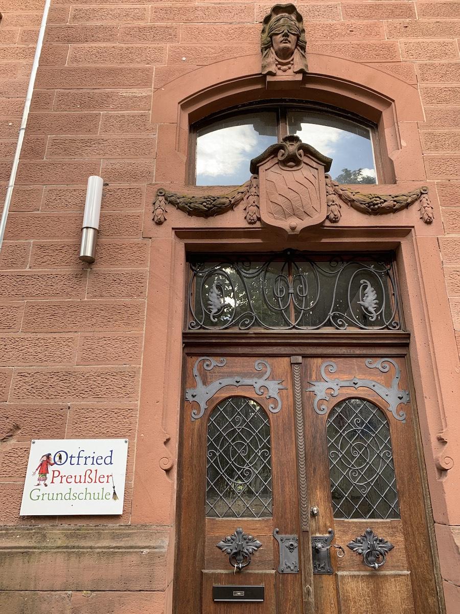 Grundschule Otterberg Eingang